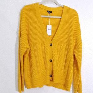 Splendid Oversized Chuncky knit Cardigan M New